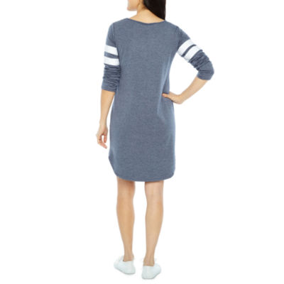 Emma And Michele Long Sleeve Shift Dress