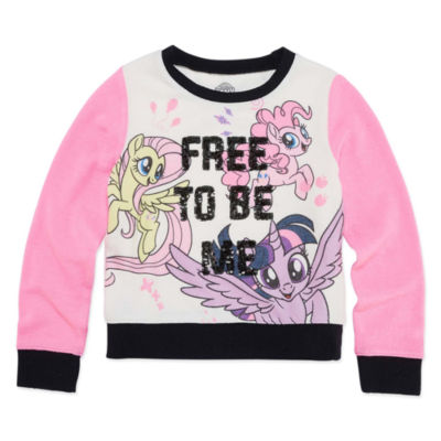 Long Sleeve My Little Pony Sweatshirt - Preschool Girls
