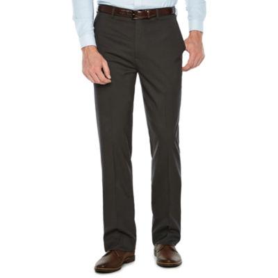 Claiborne Performance Slim Fit Stretch Pant Mens Slim Fit Flat Front Pant