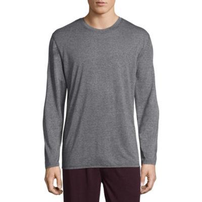 Van Heusen Long Sleeve Knit Pajama Top - Men's