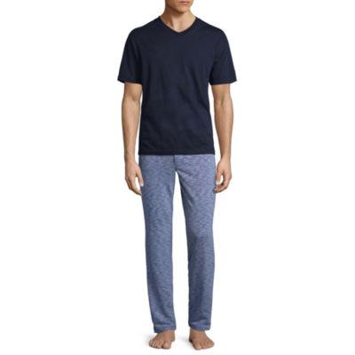 Stafford® Knit Pajama Set- Men's