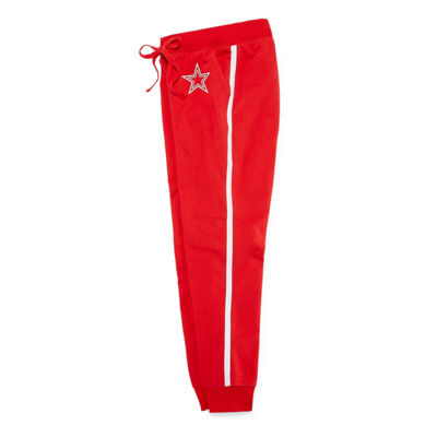Flirtitude Star Jogger Pants-Juniors Plus
