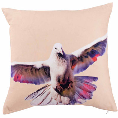 Kensie Blossom Square Throw Pillow