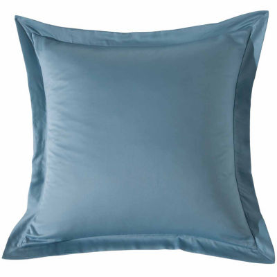 Kensie Blue Poppy Square Throw Pillow