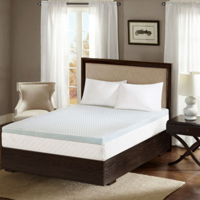 "Sleep Philosophy 2"" Gel Memory Foam Mattress Topper"