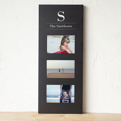Cathy's Concepts Personalized Multi Photo Frame