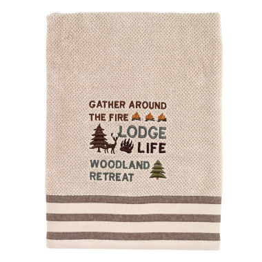 Avanti Cabin Words Bath Towel