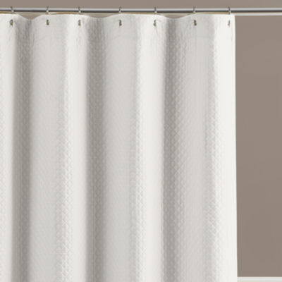 Lamont Home Diamante Extra Wide Shower Curtain