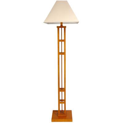 "Oriental Furniture 62"" Mosko Floor Lamp"""