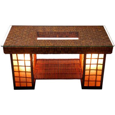 Oriental Furniture Renato Coffee Table Lamp