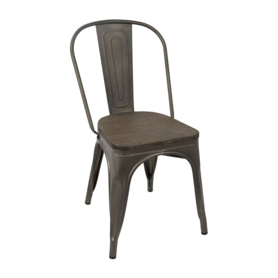 Oregon Contempoary Side Chairs - Set of 2