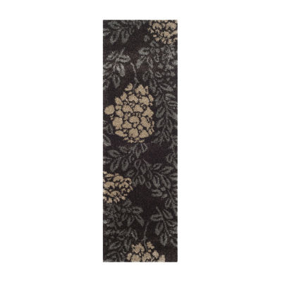 Safavieh Shag Collection Erica Geometric Runner Rug