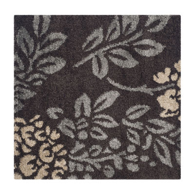 Safavieh Shag Collection Erica Geometric Square Area Rug