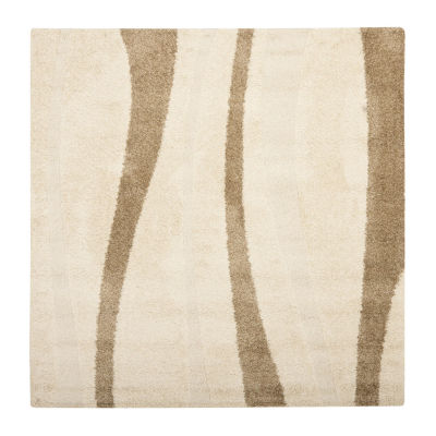 Safavieh Shag Collection Kimmee Abstract Square Area Rug