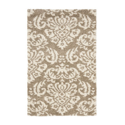 Safavieh Shag Collection Mario Damask Area Rug