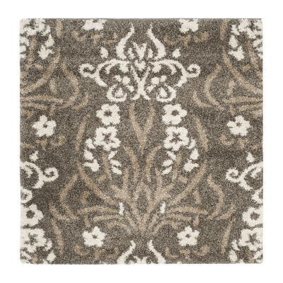 Safavieh Shag Collection Tristen Floral Square Area Rug