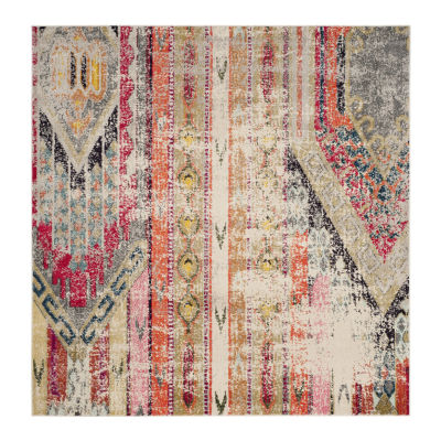 Safavieh Monaco Collection Cedric Abstract SquareArea Rug