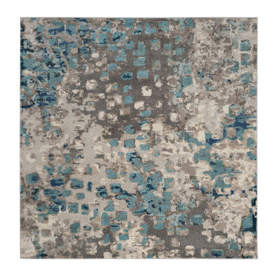 Safavieh Monaco Collection Doreen Abstract SquareArea Rug