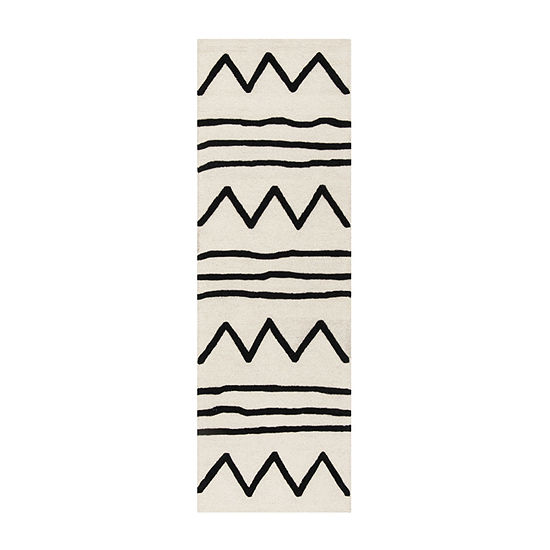 Safavieh Kids Collection Fion Geometric Runner Rug