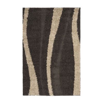 Safavieh Shag Collection Kimmee Abstract Area Rug