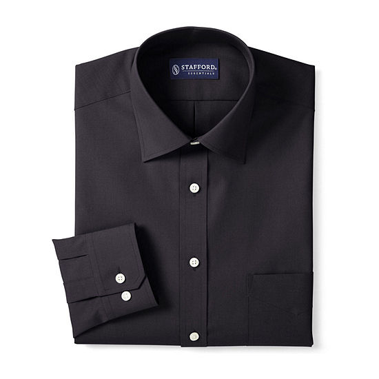 Stafford Men's Big & Tall Easy-Care Dress Shirt