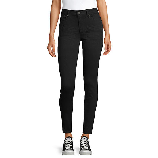 Ymi - Juniors Womens High Rise Skinny Fit Jean