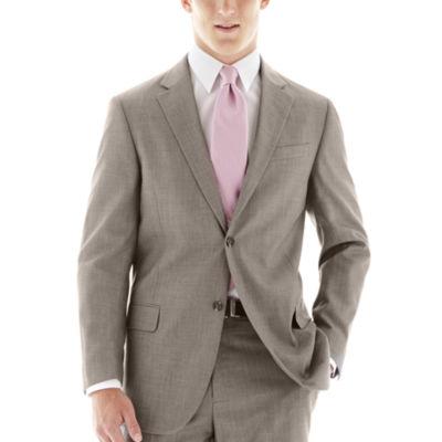 Dockers® Gray Sharkskin Suit Jacket - Classic Fit