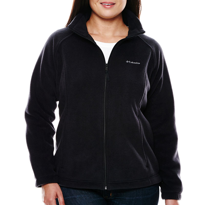 "Columbia Three Lakes"" Fleece Jacket - Plus plus size,  plus size fashion plus size appare"