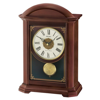Seiko Cream Mantel Clock-Qxq030blh