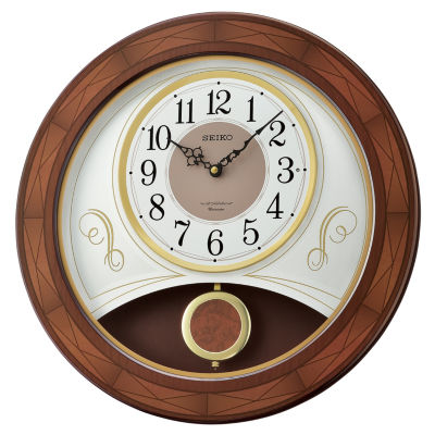 Seiko White Wall Clock-Qxm367blh
