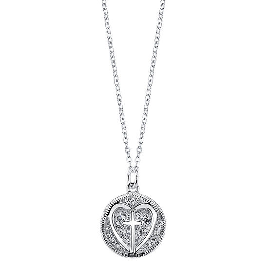 Sparkle Allure Crystal Cable Pendant Necklace