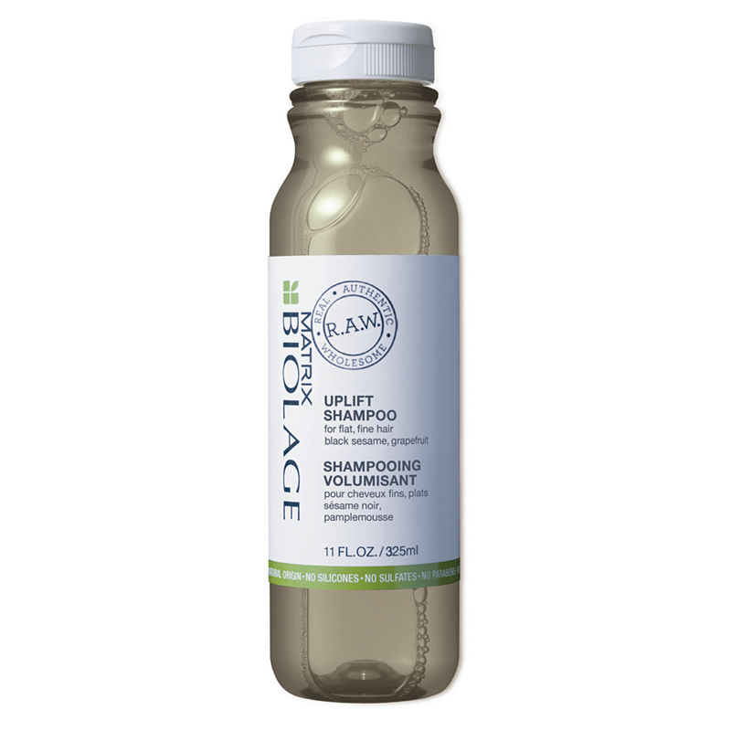 BIOLAGE R.A.W. Uplift Shampoo for Flat, Sulfate Free, Fine Hair with Black Sesame and Grapefruit, Sulfate Free, 11 fl. oz.