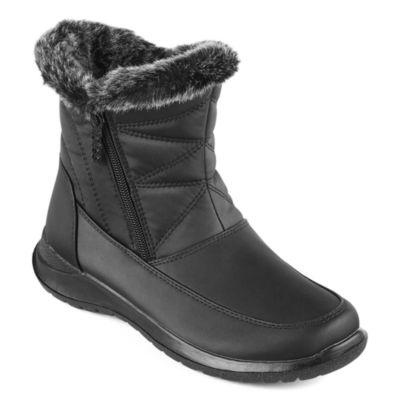 Totes Bunny Short Faux-Fur Winter Boots