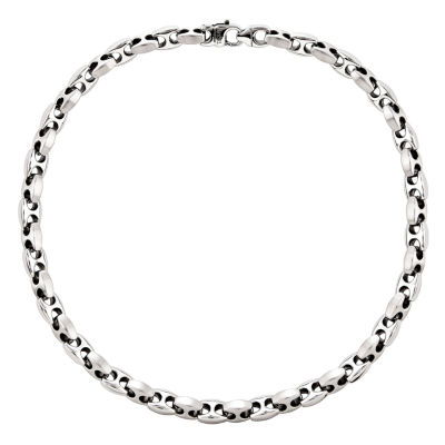 Mens Stainless Steel Chain Necklace