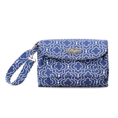 LillyBit Trellis Clutch Diaper Bag