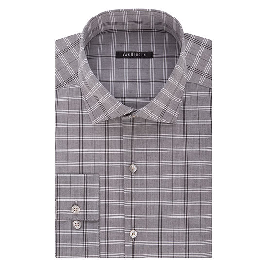 Van Heusen Slim-Fit Long Sleeve Dress Shirt