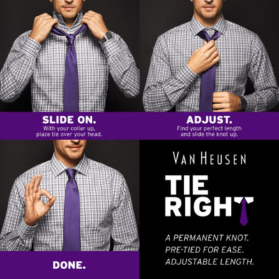 Van Heusen® Tie Right Mission Stripe Tie