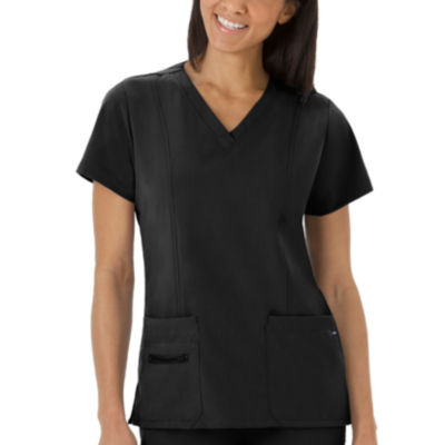 Jockey 2309 Ladies V-Neck Scrub Top - Plus