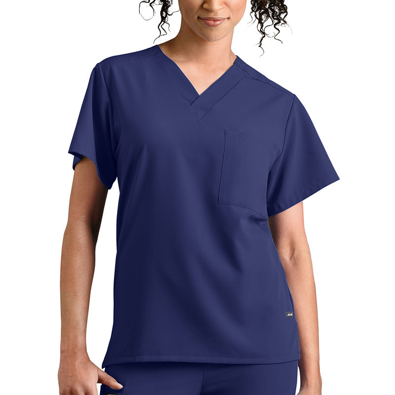 Jockey 1-Pocket Unisex Scrub Top plus size,  plus size fashion plus size appare