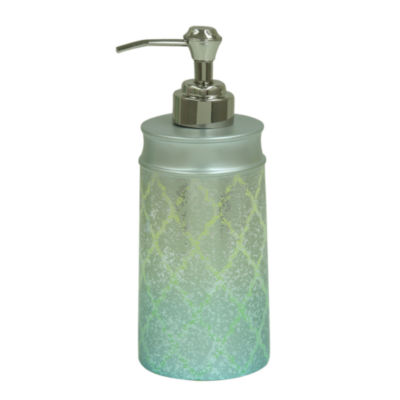 Bacova Guild Peacock Soap Dispenser