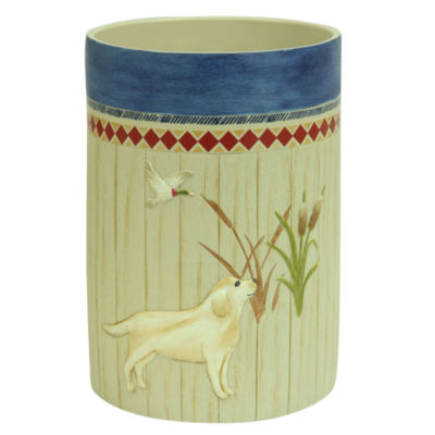 Bacova Guild Live Love Lake Wastebasket