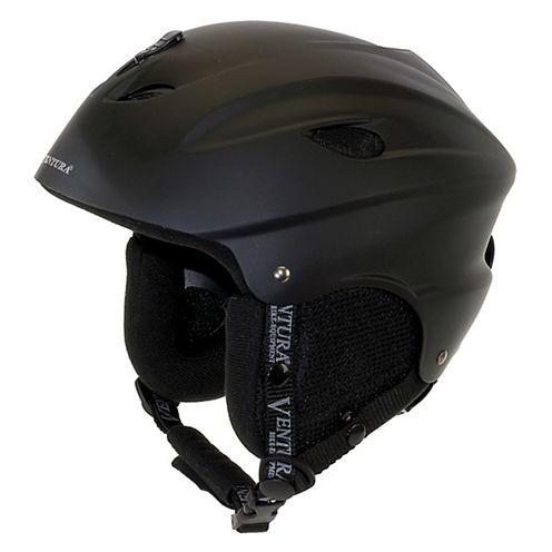 Ventura Black Skiing/Snowboarding Children's Helmet