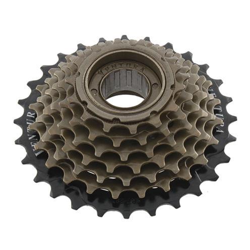 Ventura Unisex 6 Speed 14-28 Teeth Black/Brown Freewheel