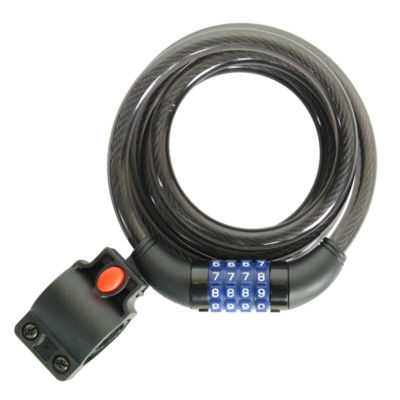 Ventura Unisex Thick Spiral Combination Lock