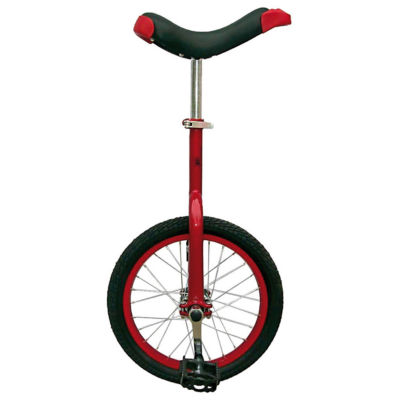 Fun Bike Red 16 Unicycle With Alloy Rim