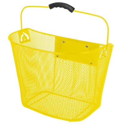 Ventura Unisex Quick Release Yellow Wire Basket