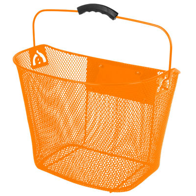 Ventura Unisex Quick Release Orange Wire Basket