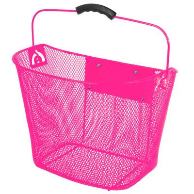 Ventura Unisex Quick Release Pink Wire Basket