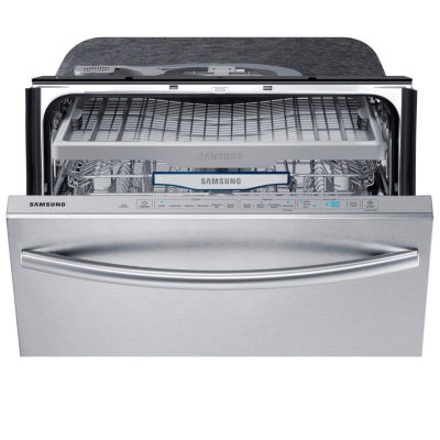 "Samsung ENERGY STAR® 24"" Dishwasher with Stainless Steel Tub and 3rd Rack"