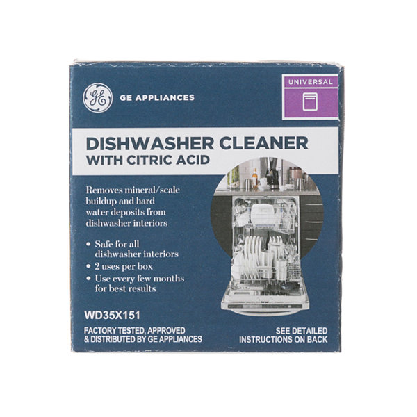 GE® Dishwasher Cleaner With Citric Acid